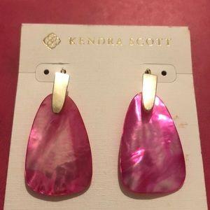 Kendra Scott Marty Drop Earrings NWT